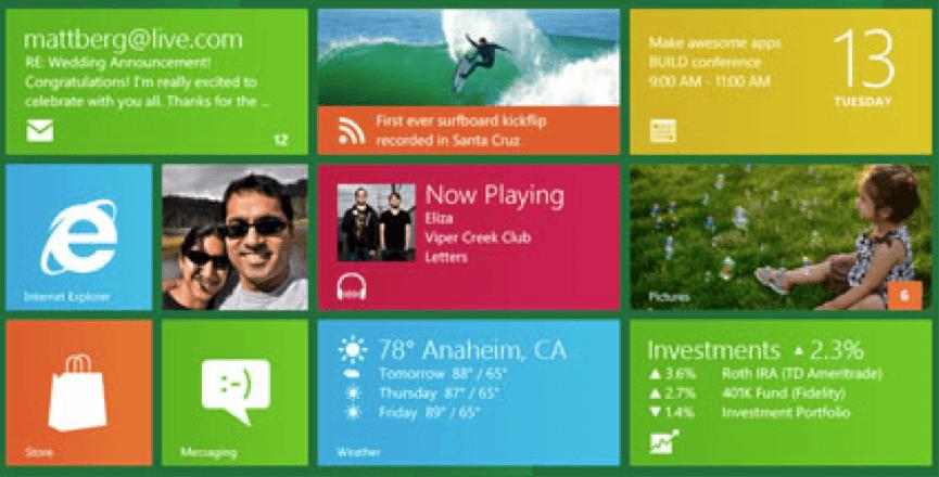 Windows 8 app Titles