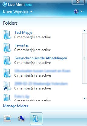Microsoft Live Mesh