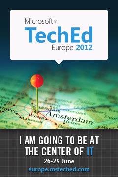 Microsoft TechEnd Europe 2012