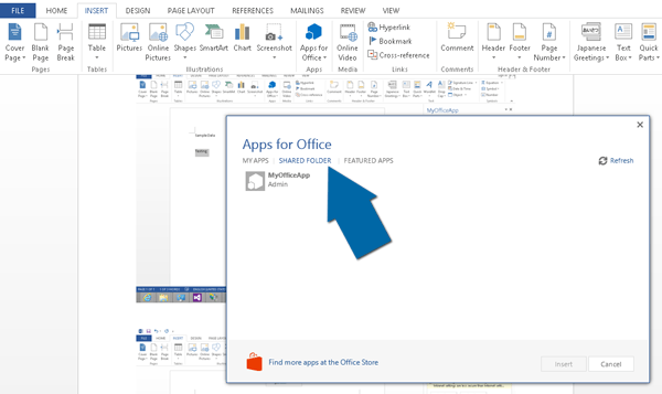 Office App Store of Share