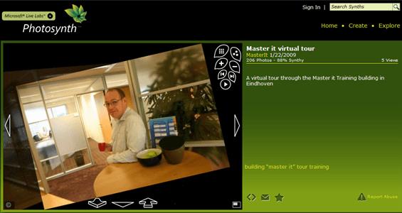 Microsoft Photosynth