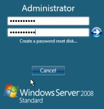 Windows Server 2008 wachtwoord