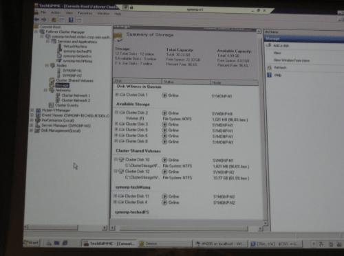 Windows 2008 R2 Failover clustering met Cluster Shared Volume