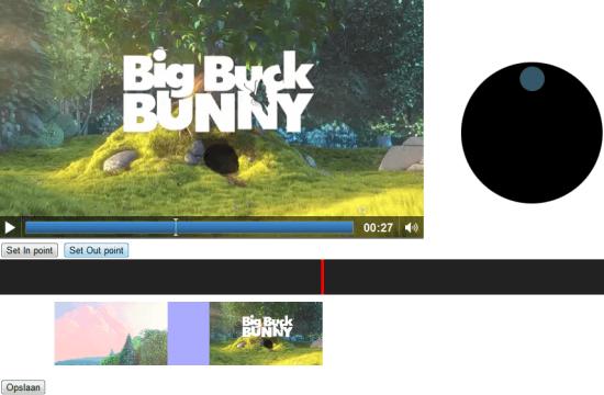 Video editor in HTML5